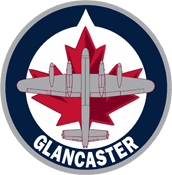 Logo for Glancaster Bombers